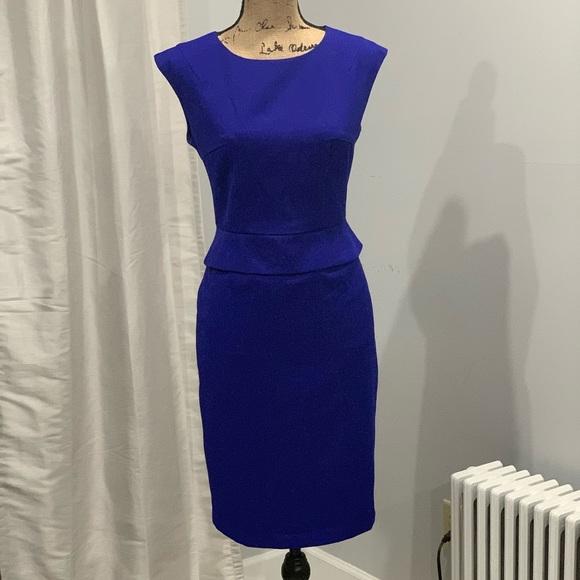 Evan Picone Dresses & Skirts - Black Label by Evan Picone blue sheath dress 6
